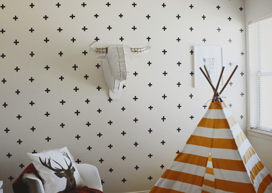 Lazy_diy_washi_tape_walls
