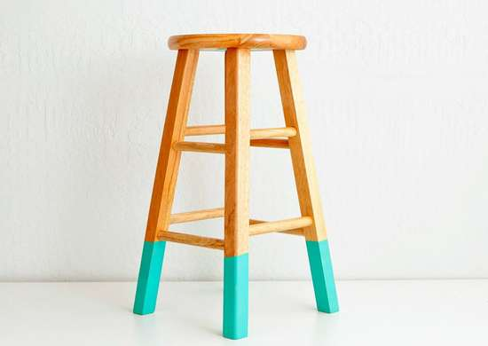 Lazy_diy_painted_stools