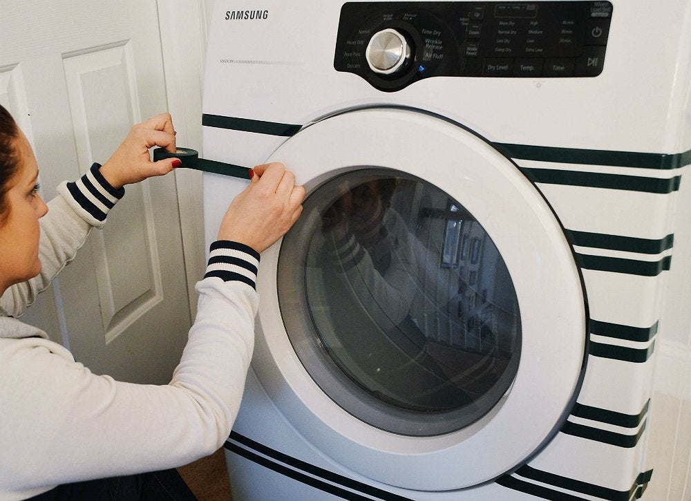 Easy diy washing machine tape