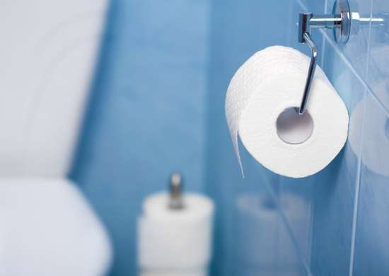 Essential oils in cardboard toilet paper tubes