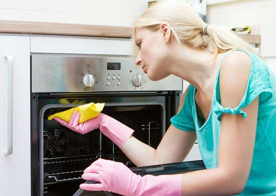 Ruining appliances oven spills