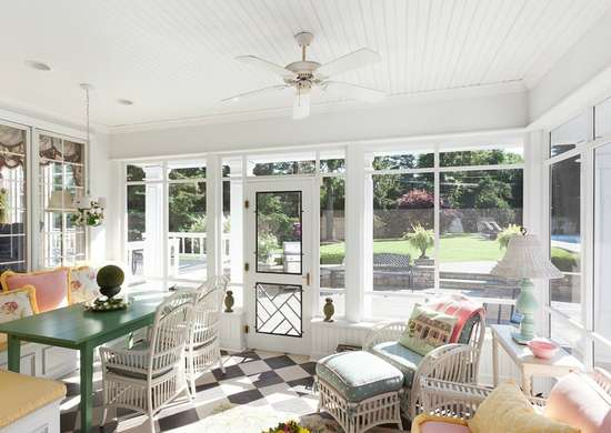 Colorful Sunroom