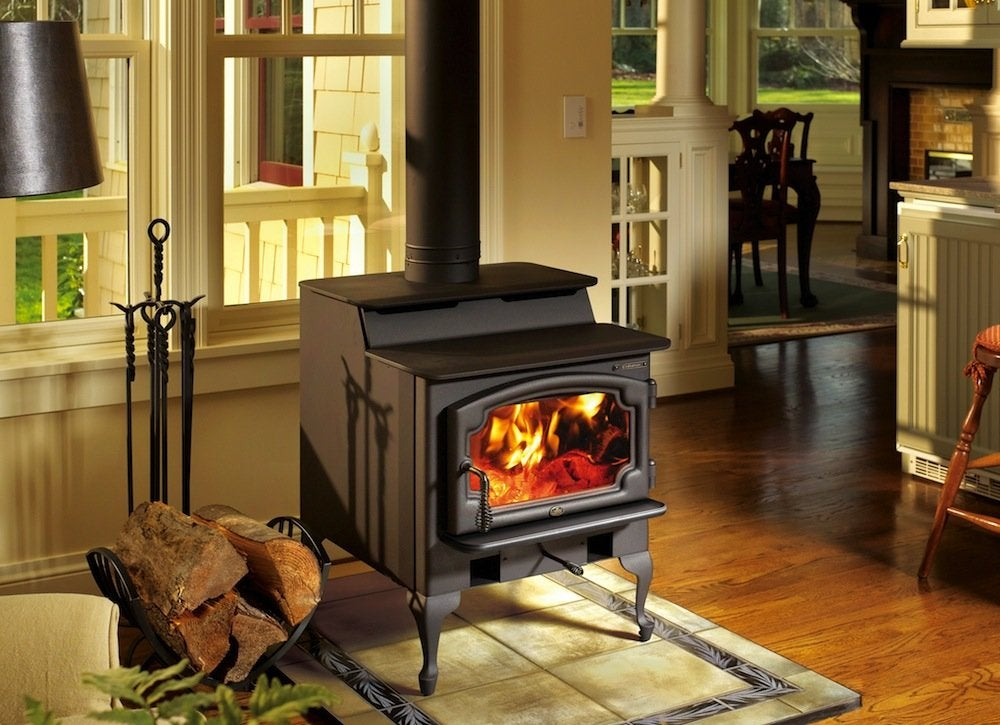 Lopi Endeavor Wood Stove Best Wood Stove 9 Best Picks Bob Vila