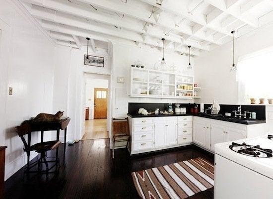 Refinished Kitchen Wood Floors