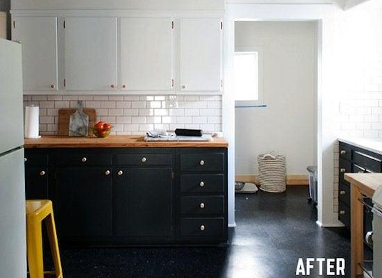 Manhattan nest kitchen after