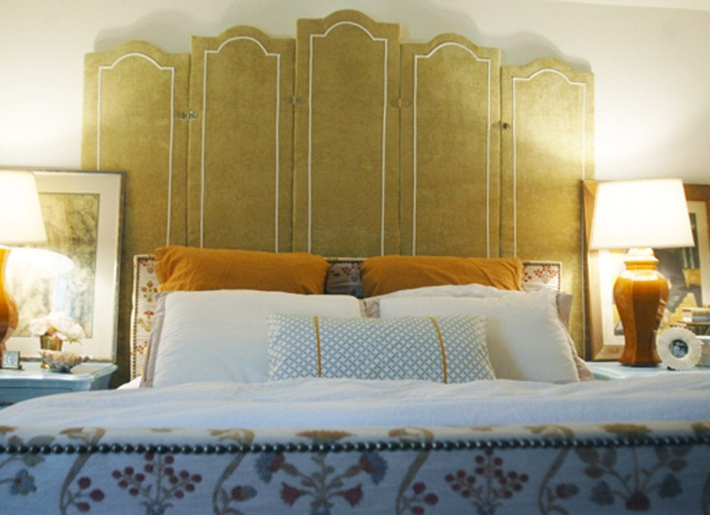 Diy bedroom ideas   headboard