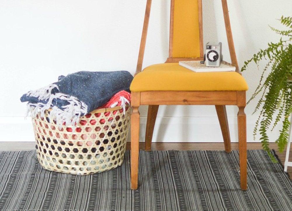 Diy bedroom ideas   diy area rug