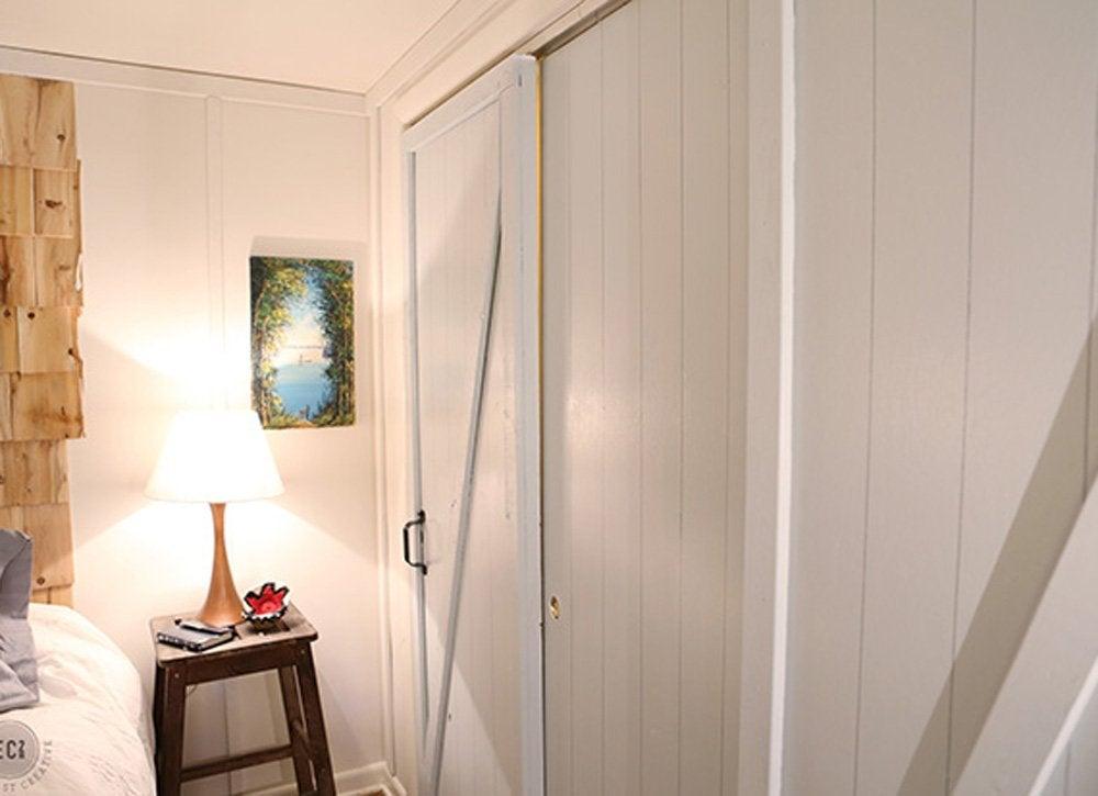Diy bedroom ideas   closet doors