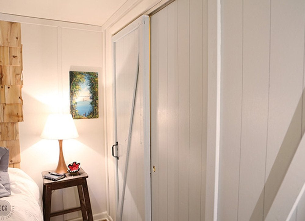 Diy bedroom ideas   closet doors