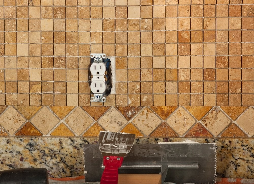 Tile a backsplash