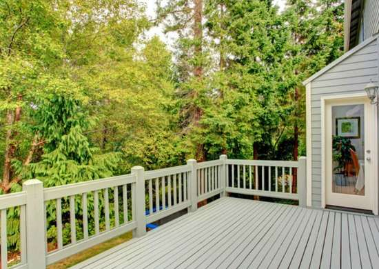 Home repairs   deck railings