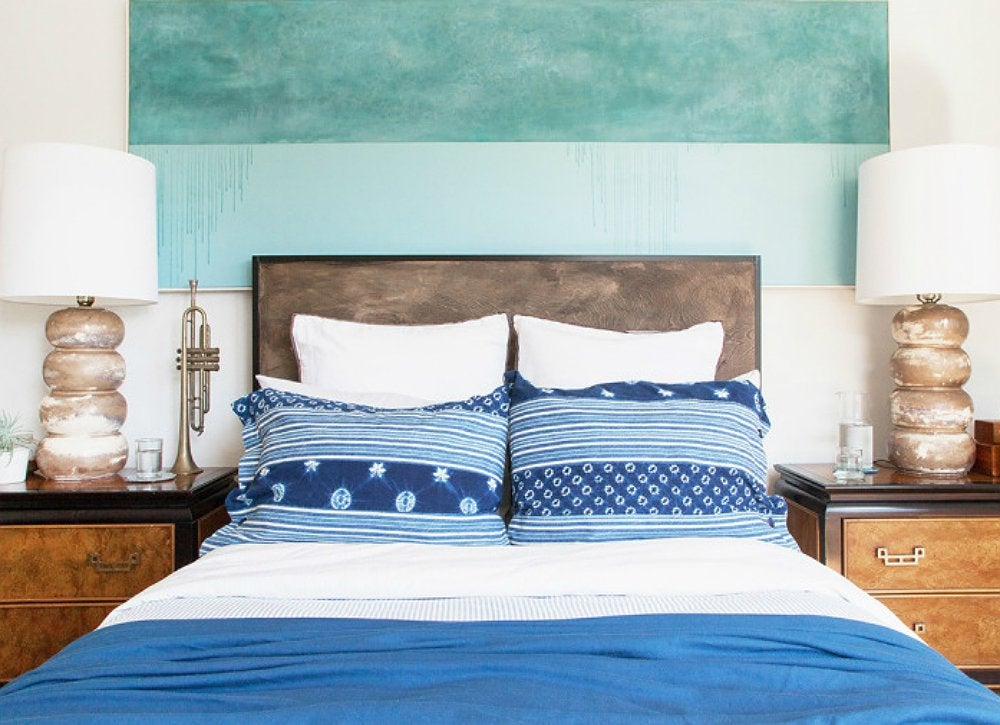 Diy painted headboard 3