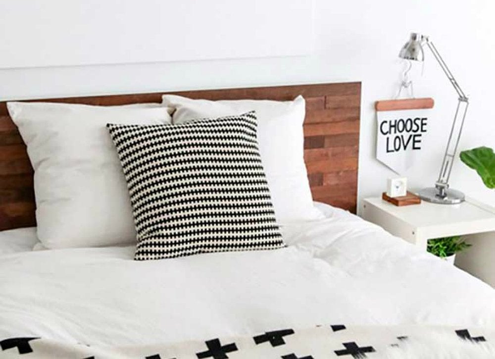 Diy ikea hack headboard 6