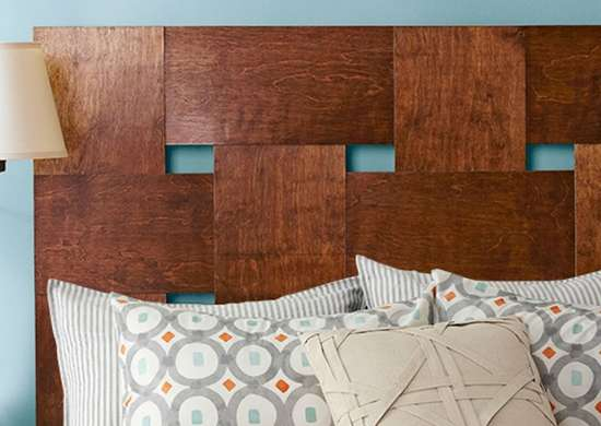Diy woven headboard 11