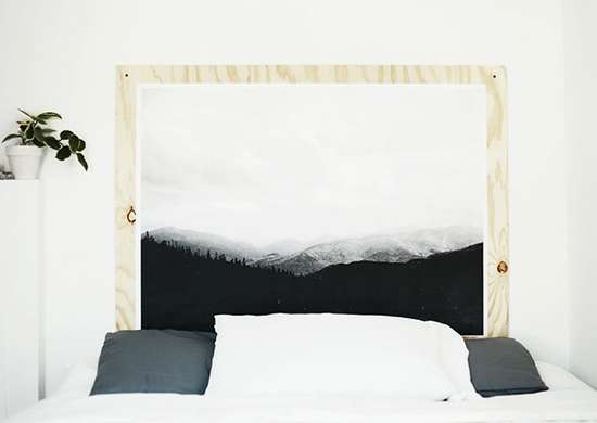 Plywood headboard how to make a headboard 14 diy - Make your own headboard ...