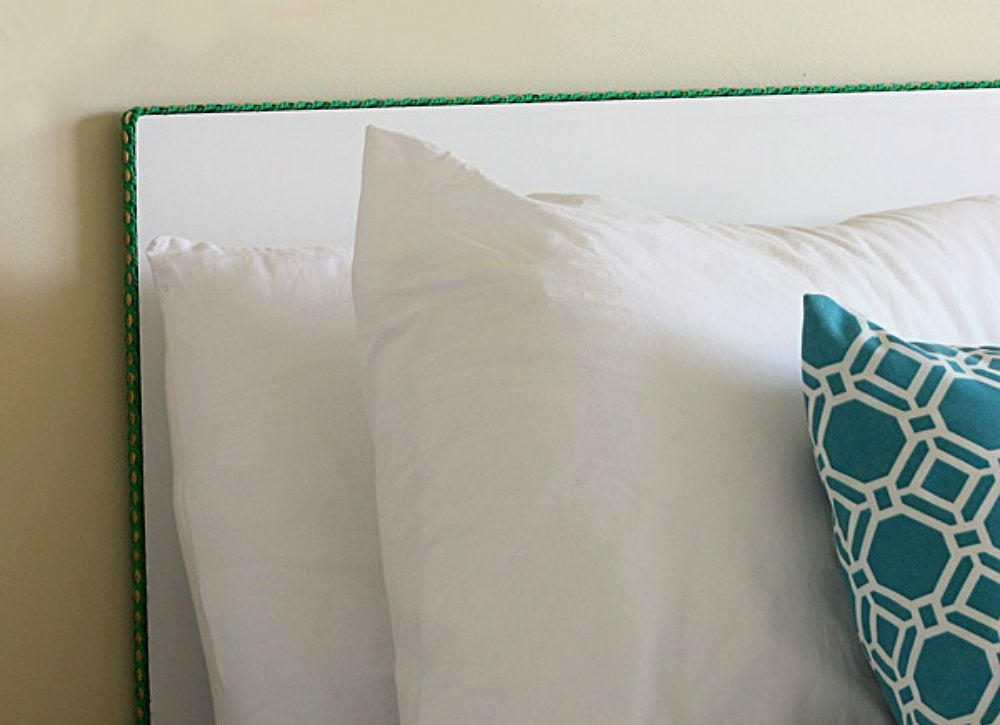 Easy diy headboard 14