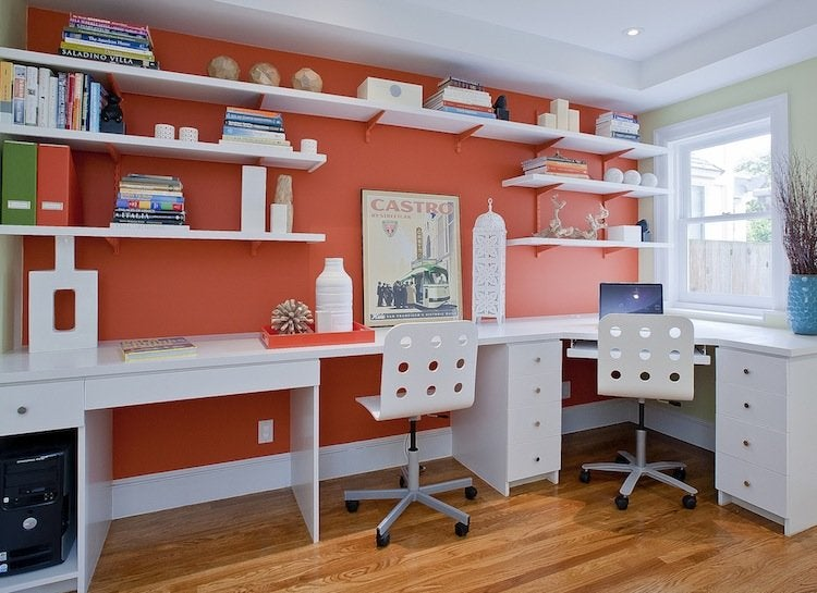 Orange_home_office