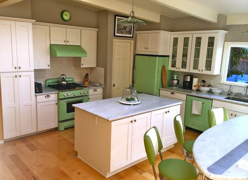 Stainless Steal Kitchen Appliance Set