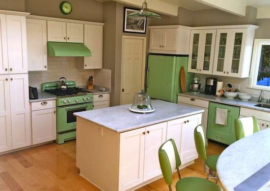 Green Vintage Appliances