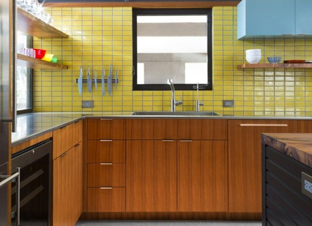 1960s wood cabinets
