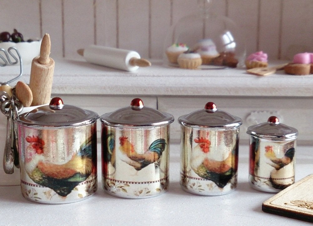 Vintage kitchen canisters vintage kitchen 12 design - Vintage kitchen ...