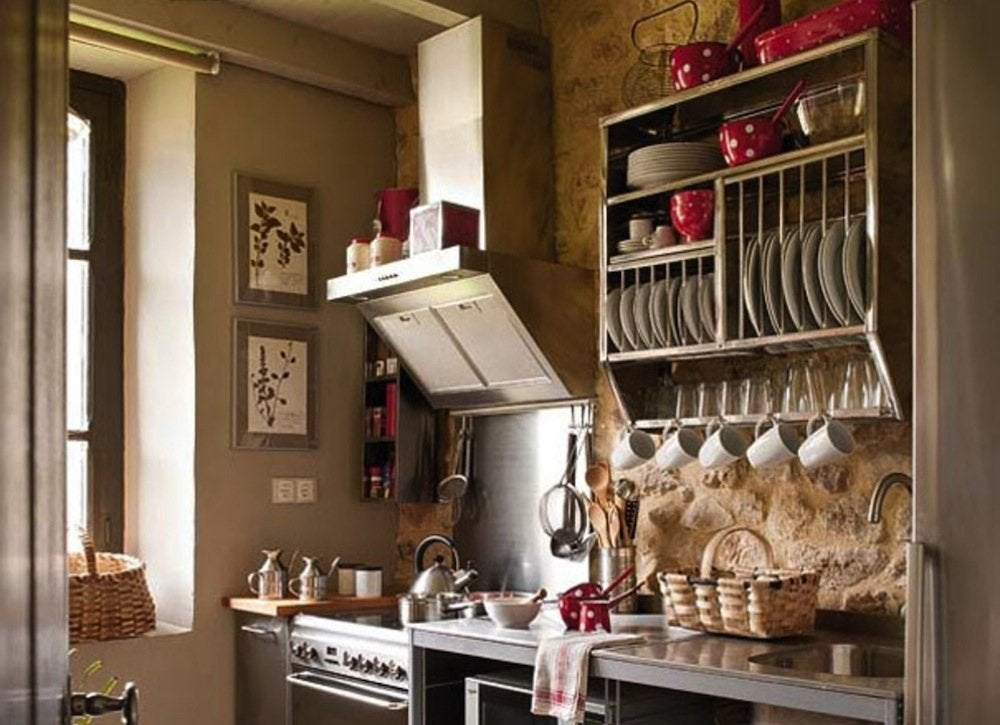 Cup and plate rack