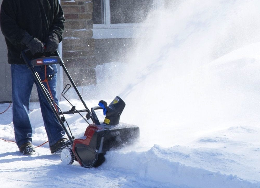 Powerful Handheld Electric Snow Blowers : Best snow blowers top picks bob vila
