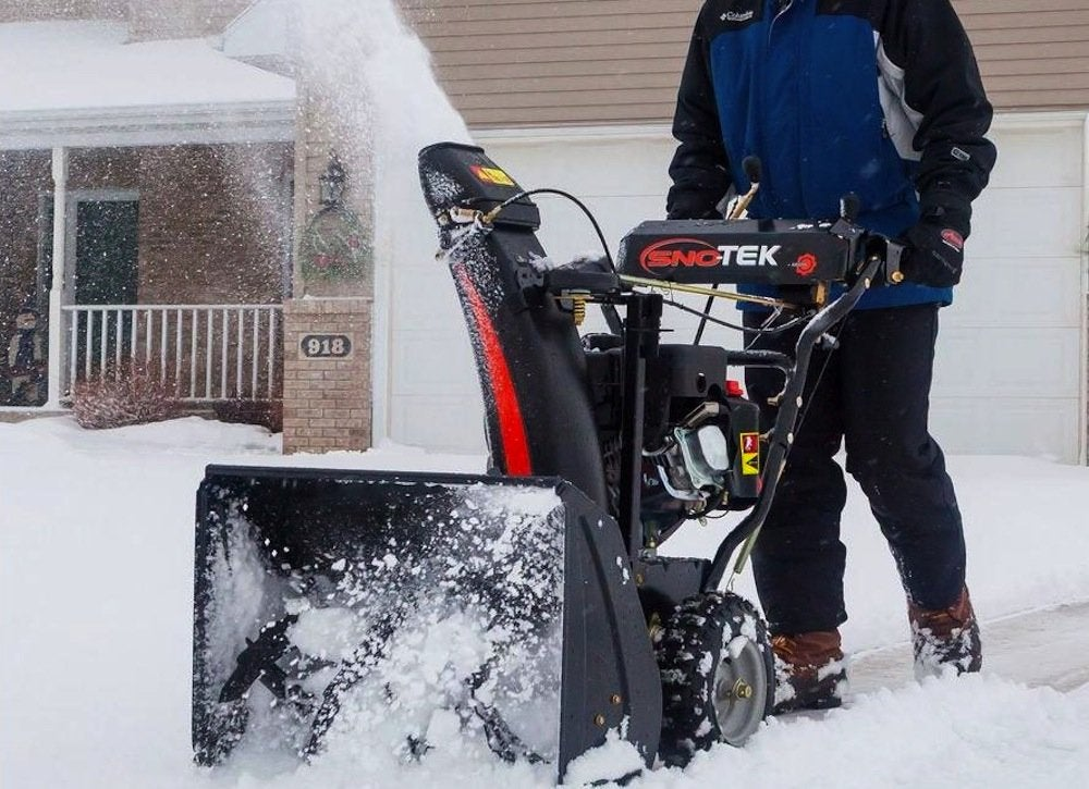 Sno tek gas snow blower
