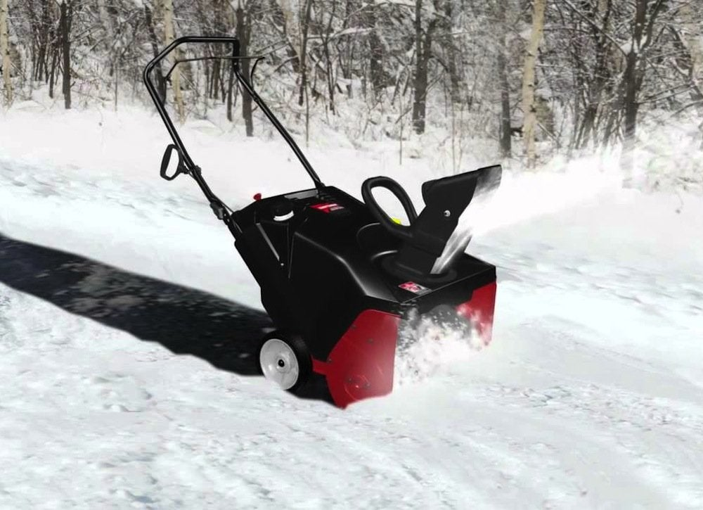 Craftsman dual stage snow blower