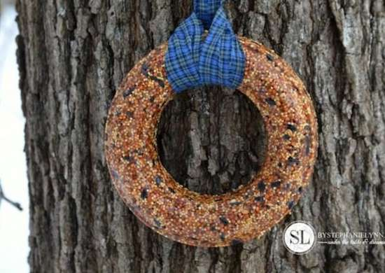 Birdseed Wreath