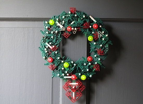 Knex christmas wreath