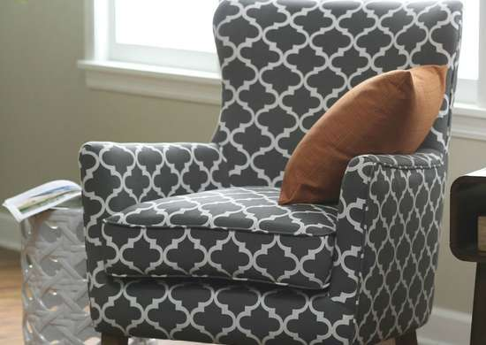 Belham Living Palmer Printed Arm Chair