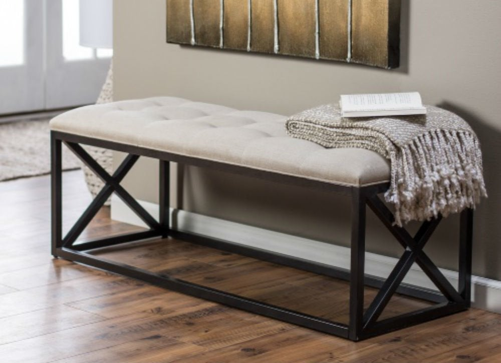 Tufted bench   ss