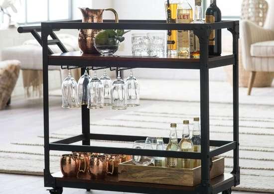 Belham Living Trenton Bar Cart