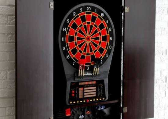 Arachnid Cricket Pro 800 Electronic Dart Board Complete Set