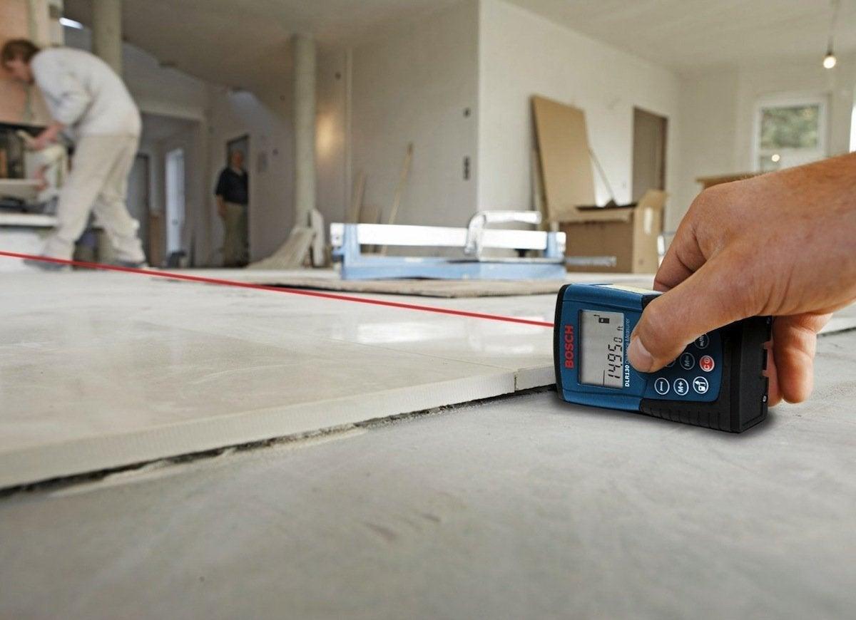 Laser measuring tape