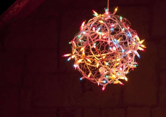 diy christmas light ball diy christmas decorations 10 outdoor lighting ideas bob vila. Black Bedroom Furniture Sets. Home Design Ideas