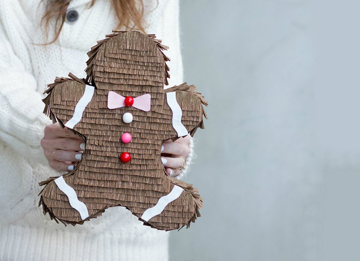 Gingerbread pinata