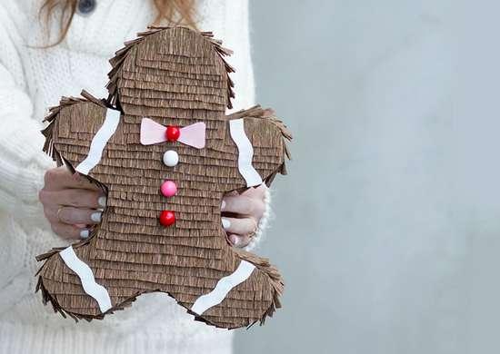 Gingerbread pinata