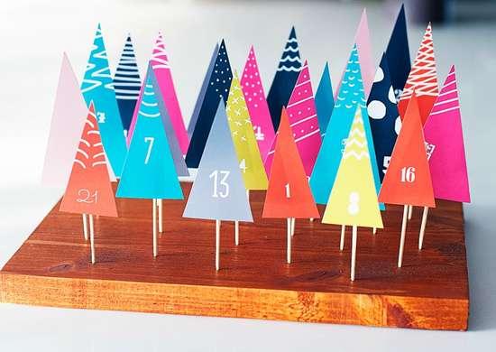 Forest advent calendar