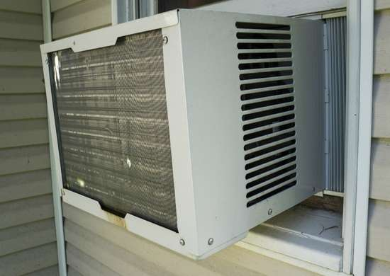 Remove air conditioner