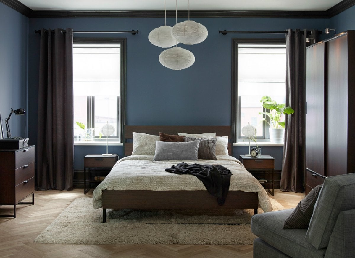 Blue bedroom paint ideas the best picks for your for Best type of paint for bedroom