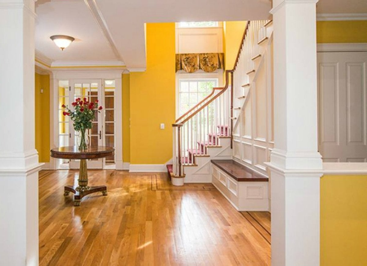 Yellow-entryway