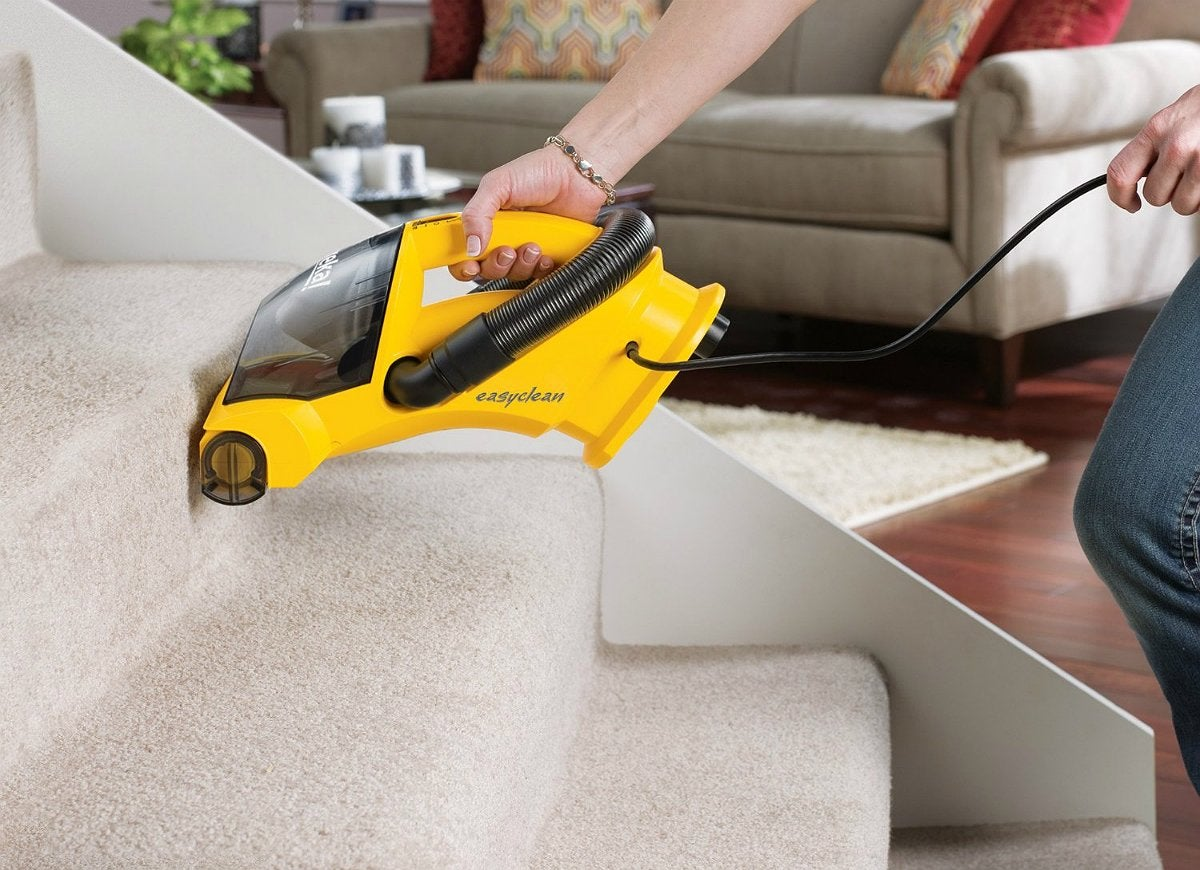 How to clean a carpet and keep it looking new bob vila - Choosing a vacuum cleaner ...
