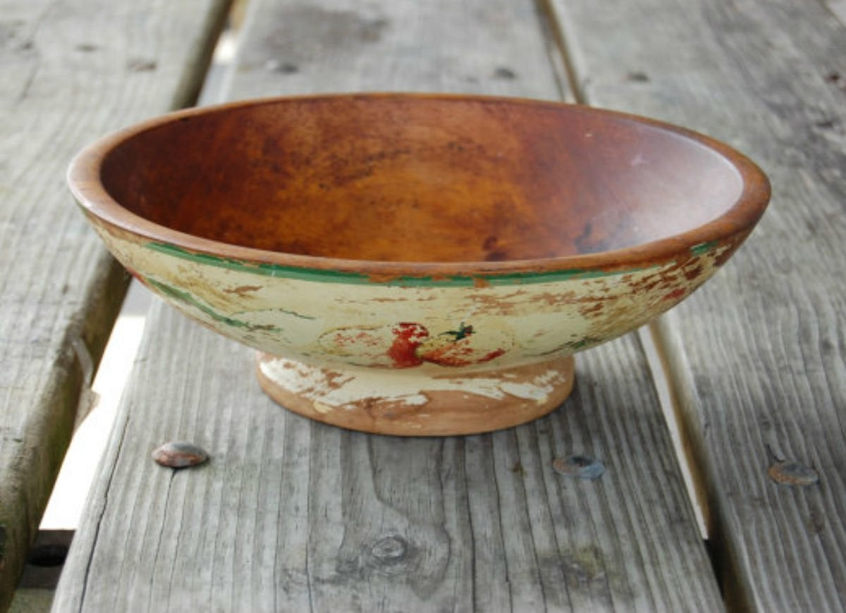 The freezer   wooden bowl