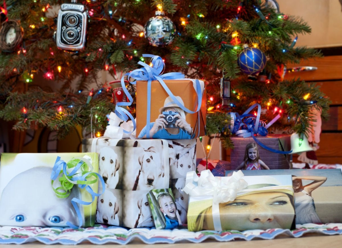 How to wrap a gift   pictures