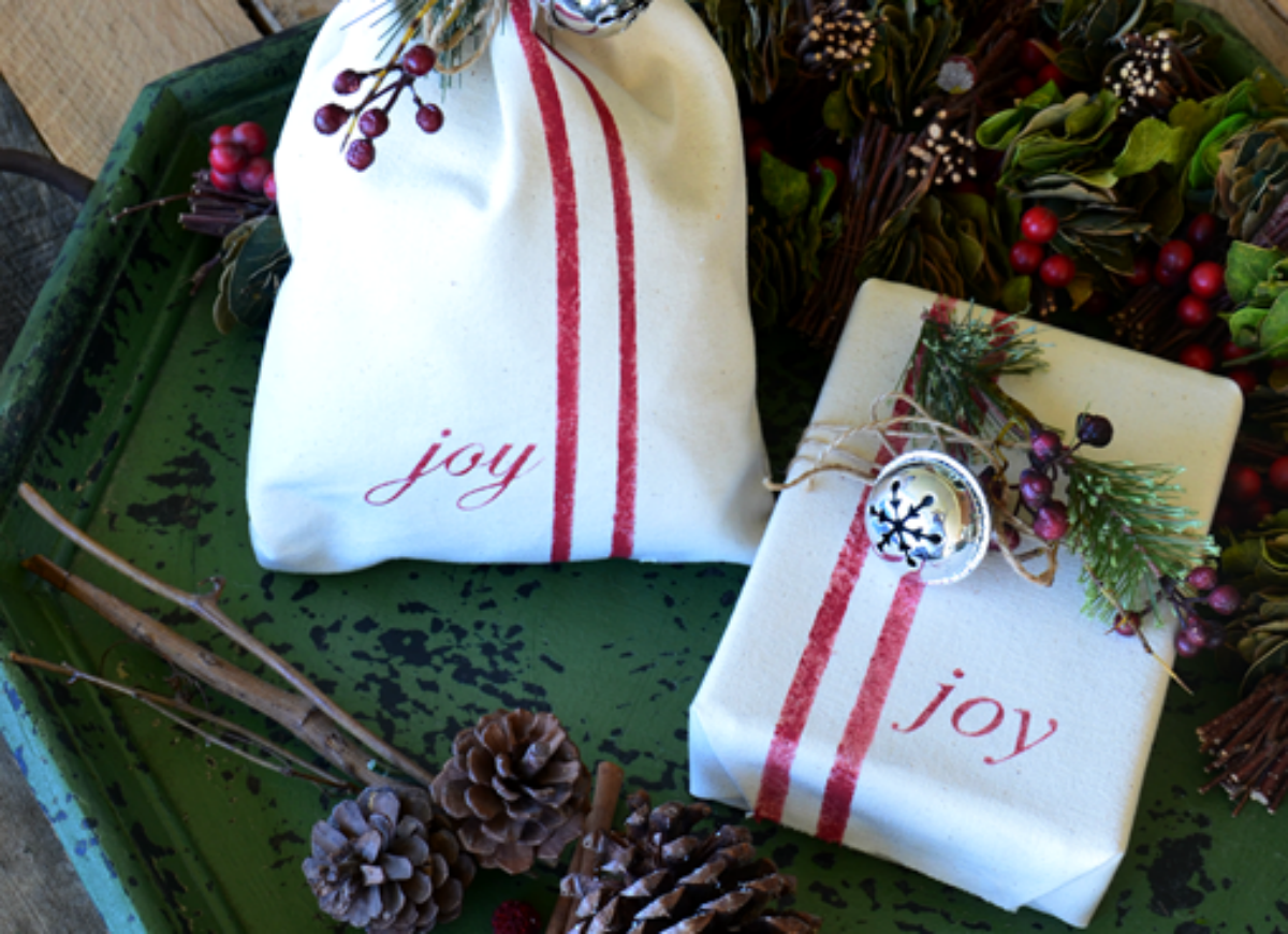How to wrap a gift   canvas