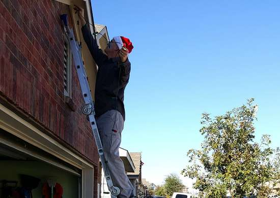 Hanging Holiday Lights Safely