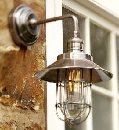 Outdoor sconces and lanterns lighting the way with style bob vila marine sconce workwithnaturefo