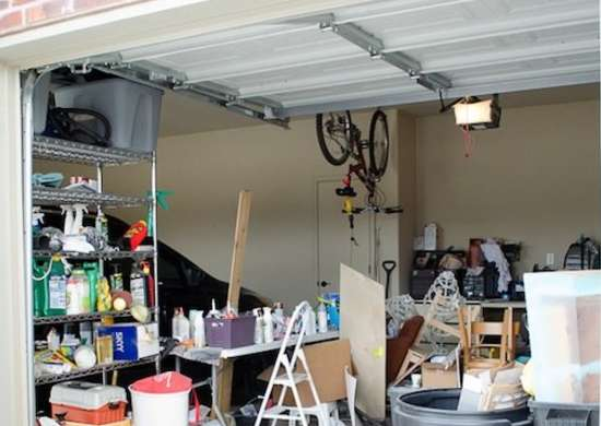 Messy Garage